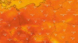 Weekend - pogoda w Polsce