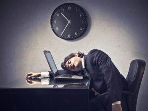 Zmeczenie w pracy